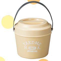 Hakoya - Hakoya Bucket Lunch Box (Take me) (Beige)