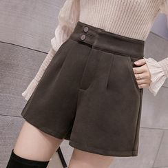 Emeraude - Wide-Leg Shorts