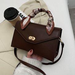 FAYLE - Top Handle Flap Crossbody Bag
