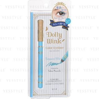 Koji - Dolly Wink Pencil Eyeliner III 03 Turquoise Blue