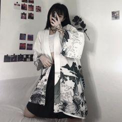 Giuliana - Printed Kimono Jacket