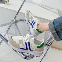 Putcho - Platform Lace-Up Sneakers
