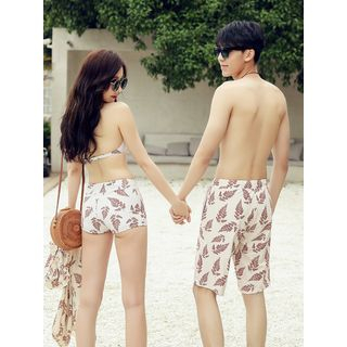 Sirene - Couple Matching Swim Shorts / Bikini / Cover Up / Set