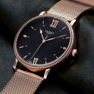 YAZOLE - 復古米蘭帶式手錶