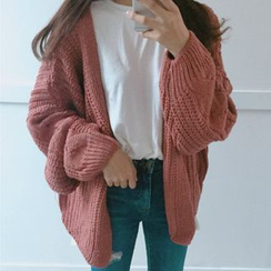 Moon City - Cable-Knit Cardigan
