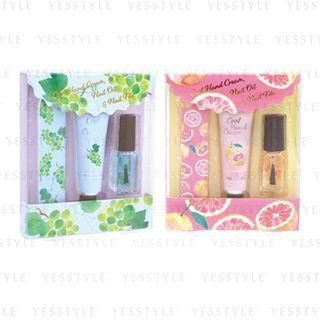 CHARLEY - Cool Hand Cream & Nail Care Set 3 pcs - 2 Types