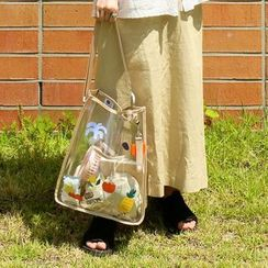 Full House - 7321-Transparent Tote Bag