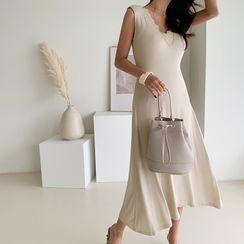 NANING9 - Flared Long Tank Dress