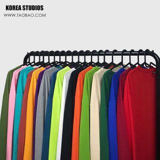 Banash - Plain Long-Sleeve T-Shirt