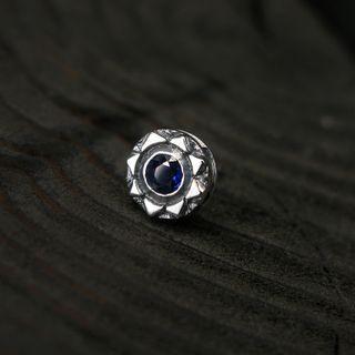 Sterlingworth - Gemstone Sterling Silver Single Earring