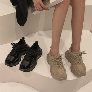 Frivole(フリボーレ) - Lace-Up Platform Sneakers