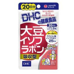 DHC Health & Supplement - Soy Extract Capsules (20 Day)