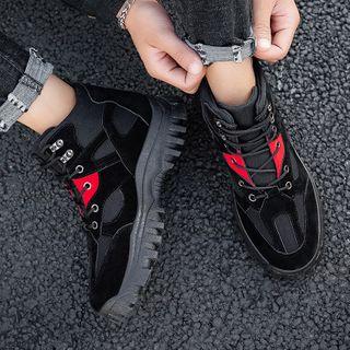 Lion Tips - Lace-Up Short Boots