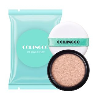 CORINGCO - Mint Blossom Cover BB Cushion SPF50+ PA+++ Refill Only 15g (#21 Cover Ivory)