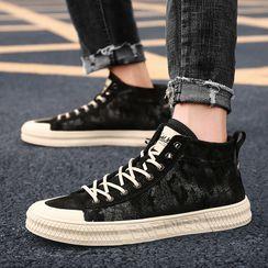 MARTUCCI - Camo Print High Top Sneakers