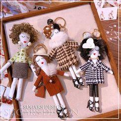 Hazy Beauty - Doll Keyring