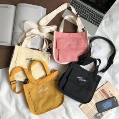 Sosara - Letter Canvas Tote Bag