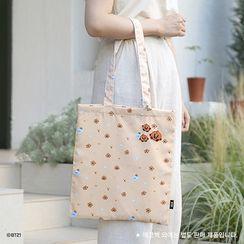 BABOSARANG - 'BT21' Patterned Shopper Bag