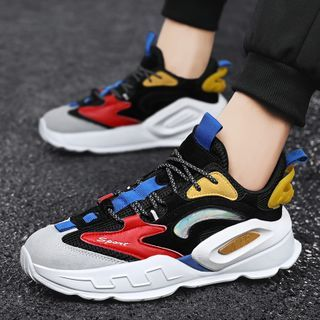 BELLOCK - Colour Block Athletic Sneakers