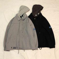 CooLook - Hooded Zip Jacket
