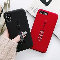Primitivo - Plain Strap Phone Case - iPhone 11 / 11 Pro / Max / 6 / 6 Plus / 7 / 7 Plus / 8 / 8 Plus / X / XS / XS MAX / XR / SE