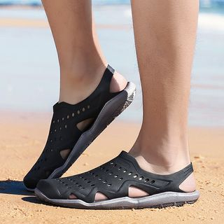 Auxen - Perforated Sandals