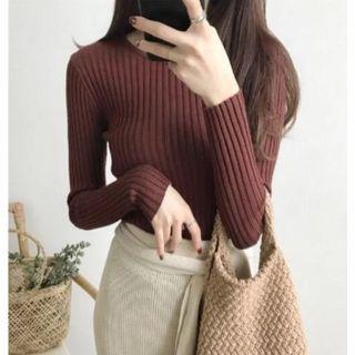 OGAWA - Long-Sleeve Ribbed Knit Top