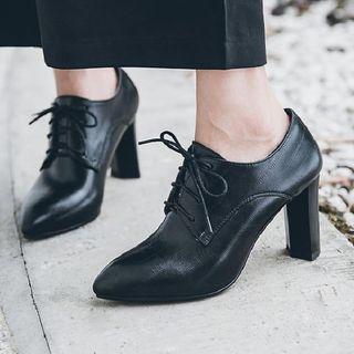 Aegina - 高跟繫帶鞋
