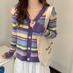 Magimomo - Striped Cardigan