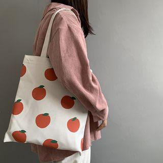 Basaran - Persimmon Canvas Tote Bag