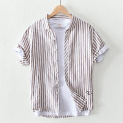 Menelaus - Short-Sleeve Striped Shirt