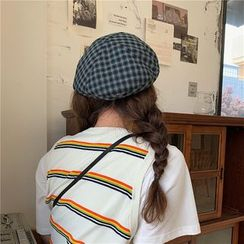 TESS(テス) - Plaid Beret Hat