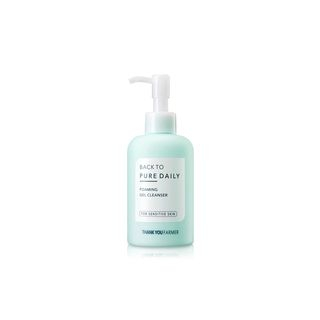 THANK YOU FARMER - Back To Pure Daily Foaming Gel Cleanser 200ml
