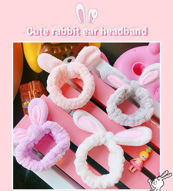 Rabbit Ear headband in 6 different colour options avaiable