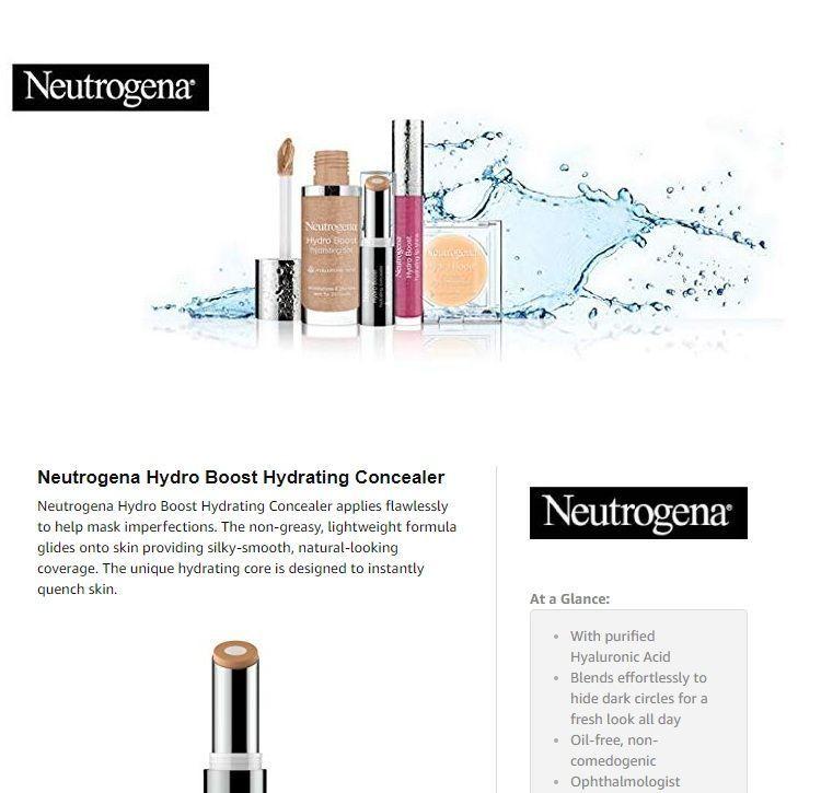 Neutrogena Hydro Boost Hydrating Concealer Yesstyle
