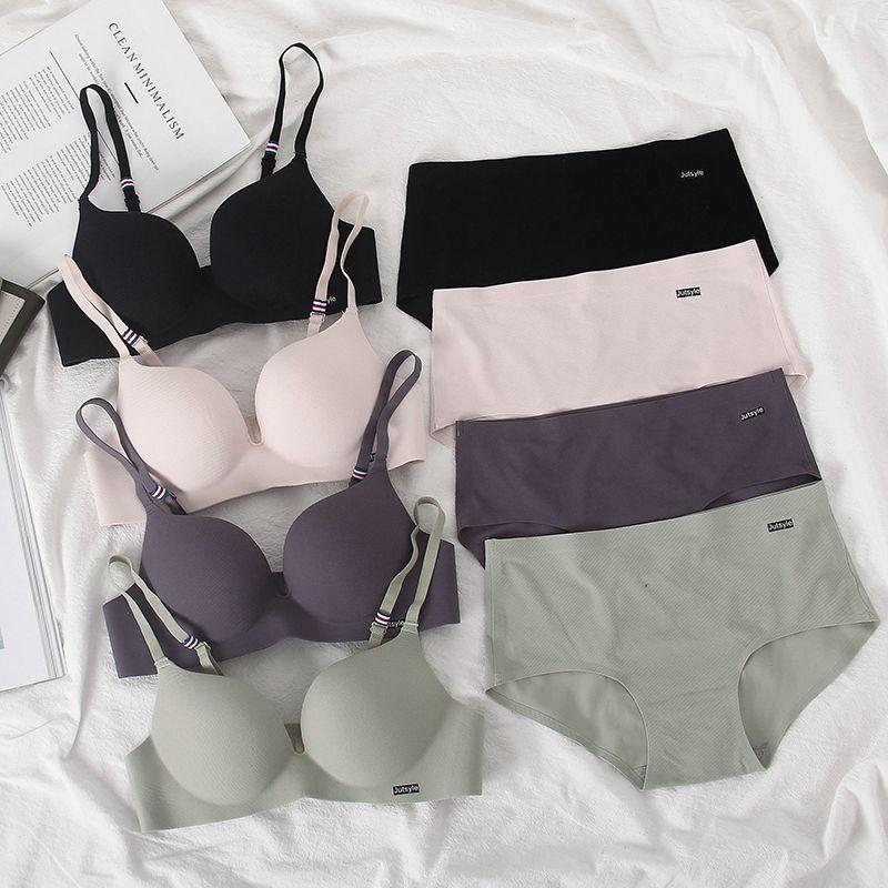 Opis - Seamless Wireless Bra / Panties / Set