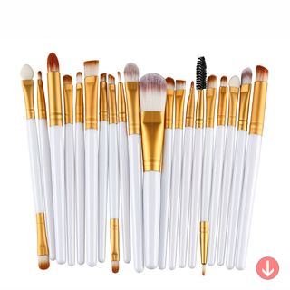 beautrend set of 20 makeup brushes  yesstyle