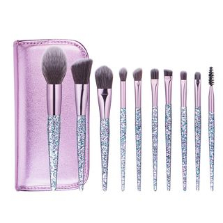 beautrend set of 10 makeup brush  yesstyle